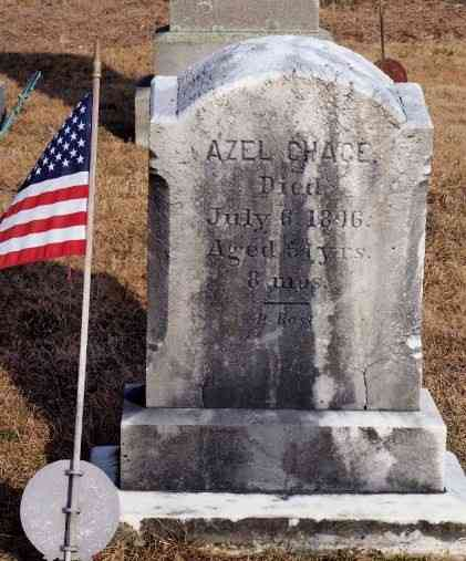Azel CHACE - Grave
