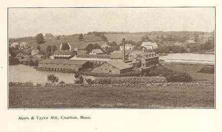 Charlton, Massachusetts, USA - Akers and Taylor Mill