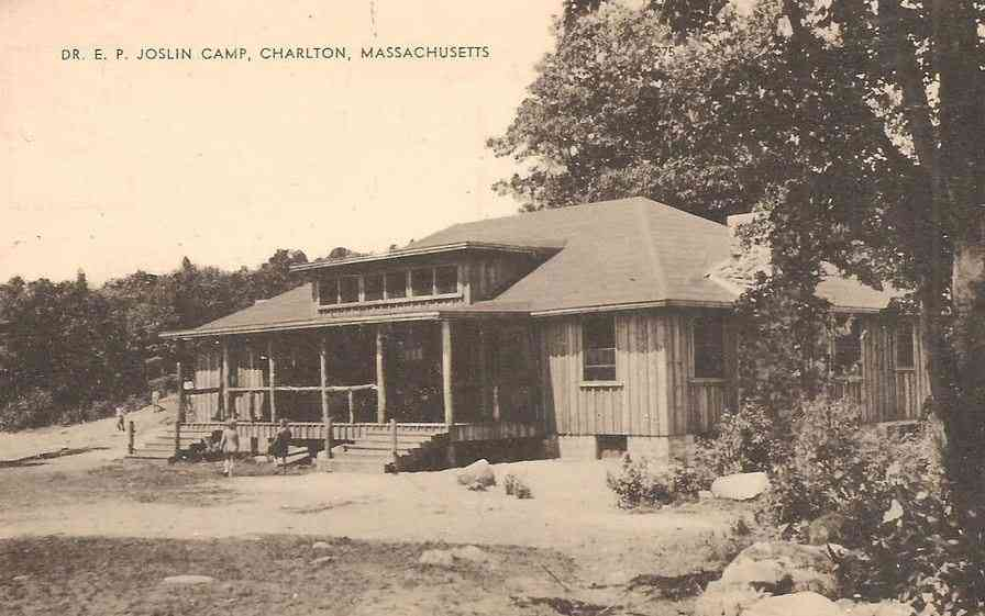 Charlton, Massachusetts, USA - Dr. E. P. Joslin Camp, Charlton, Massachusetts