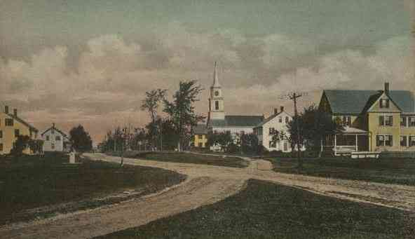 Charlton, Massachusetts, USA - Town Common