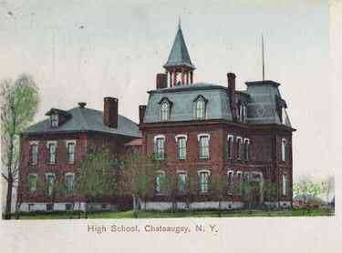 Chateaugay, New York, USA - High School