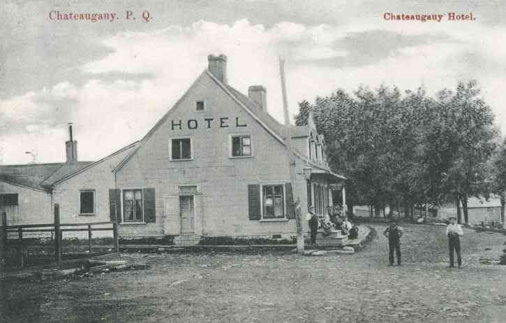 Châteauguay, Québec, Canada (Saint-Joachim-de-Chateauguay)  - Chateauguay Hotel