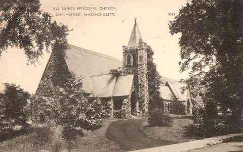 Chelmsford, Massachusetts, USA - All Saints Episcopal Church