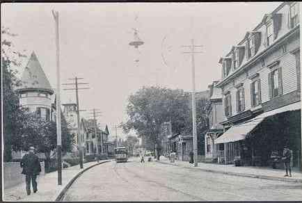 Chelsea, Massachusetts, USA - Washington Ave. (about 1906)