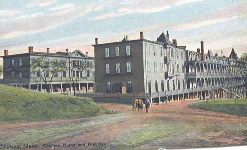 Chelsea, Massachusetts, USA - Soldiers Home and Hospital