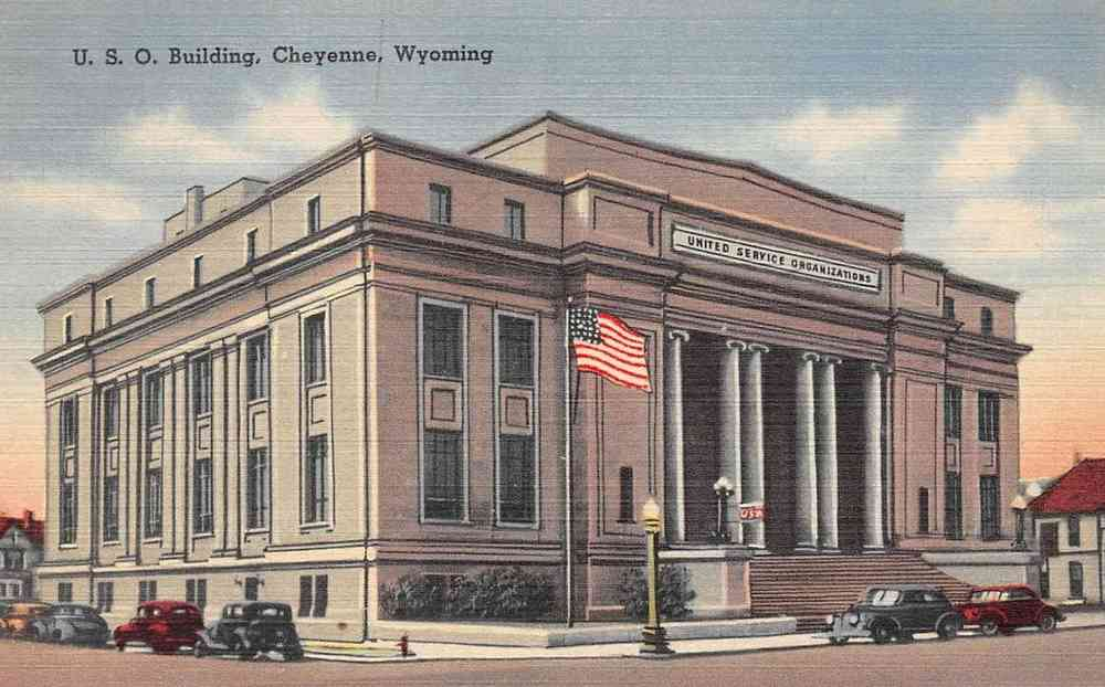 Cheyenne, Wyoming, USA - U.S.O. Building
