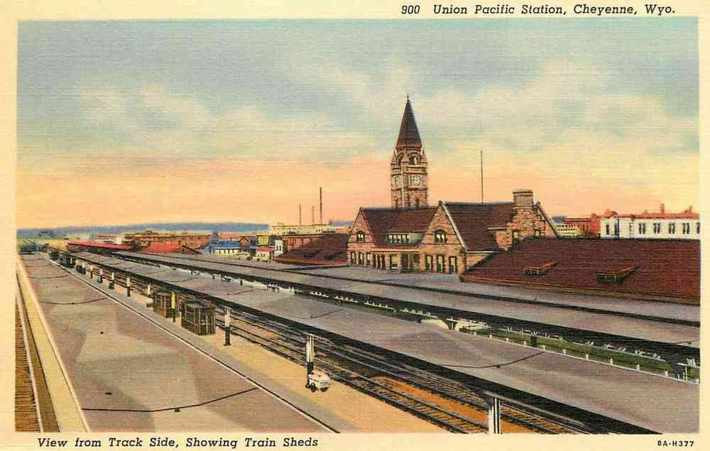 Cheyenne, Wyoming, USA - Union Pacific Station, Cheyenne, Wyo.