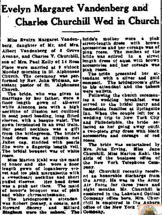 Charles V CHURCHILL - The Citizen Advertiser