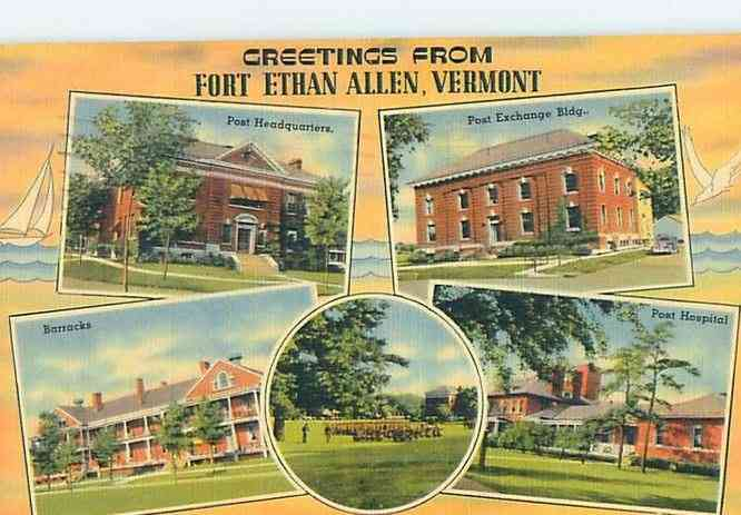 Colchester, Vermont, USA (Malletts Bay) - Fort Ethan Allen