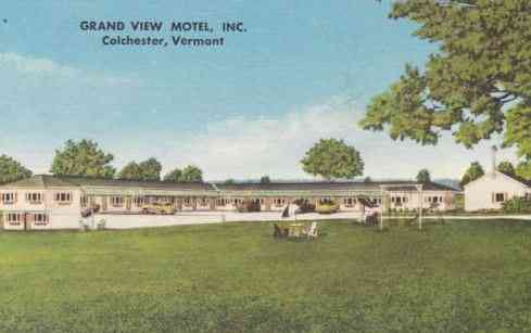 Colchester, Vermont, USA  - Grand View Motel