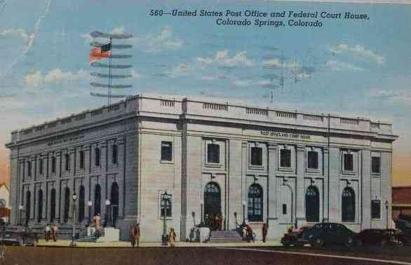 Colorado Springs, Colorado, USA - United States Post Office and Federal Court House