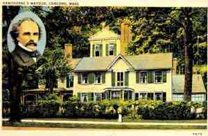 Concord, Massachusetts, USA - Hawthorne's Wayside, Concord, Mass.
