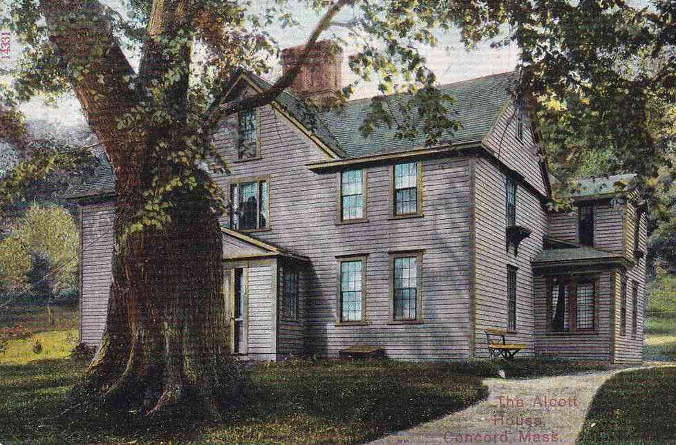 Concord, Massachusetts, USA - The Alcott House