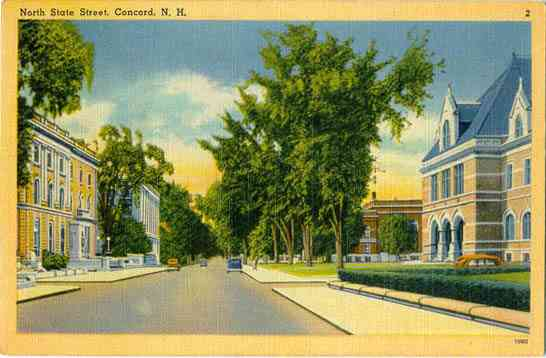 Concord, New Hampshire, USA - North State Street, Concord, N. H.