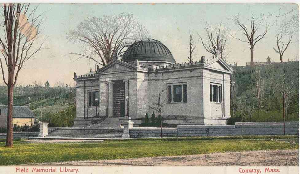 Conway, Massachusetts, USA - Field Memorial Library