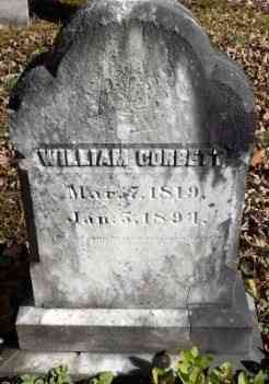 William Corbett - Grave