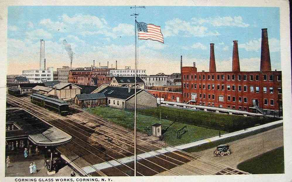 Corning, New York, USA - Corning Glass Works