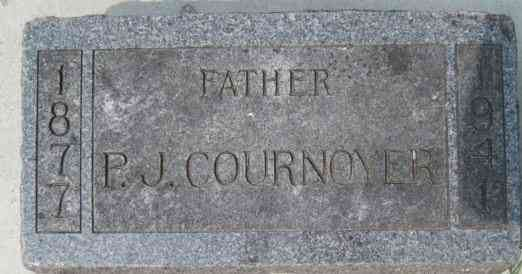 Peter Joseph COURNOYER - Grave