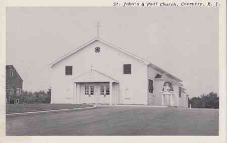 Coventry, Rhode Island, USA - St. John's & Paul Church, Coventry, R.I.