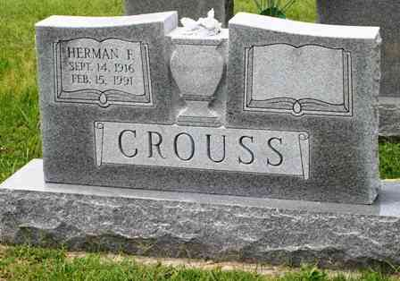 Herman  Fisher CROUSS - Forest Lawn Cemetery 