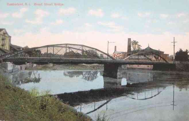 Cumberland, Rhode Island, USA (Valley Falls) (Ashton) (Cumberland Hill) - Broad Street Bridge