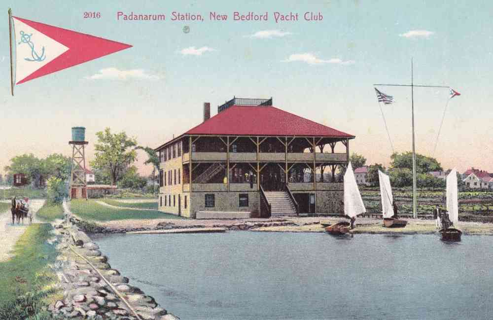 Dartmouth, Massachusetts, USA (Bliss Corner) (Smith Mills) - Padanarum Station, New Bedford Yacht Club