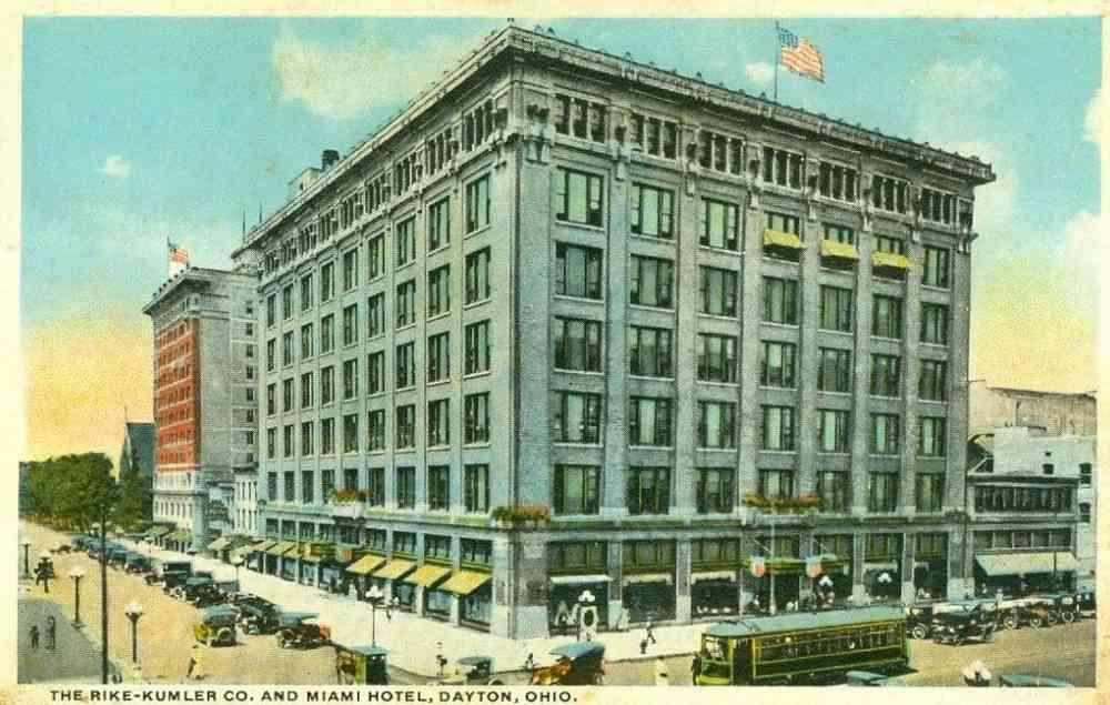Dayton Ohio Usa The Rike Ler Co And Miami Hotel