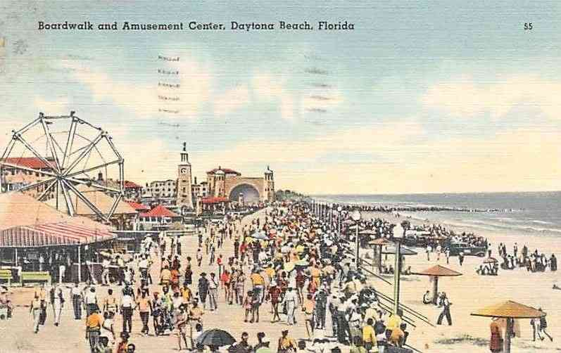 Daytona Beach, Florida, USA - Boardwalk and Amusement Center