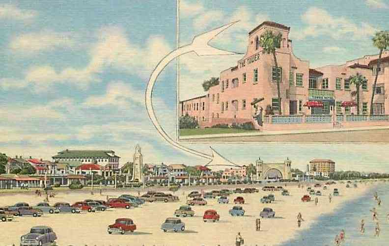 Daytona Beach, Florida, USA - The Tower Hotel