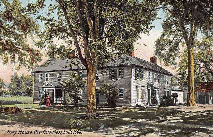 Deerfield, Massachusetts, USA (South Deerfield) - Frary House, Deerfield, Mass.