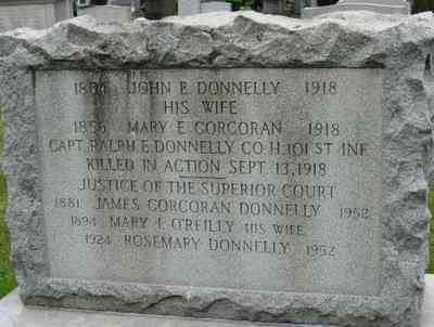 Ralph Edward Donnelly - Grave