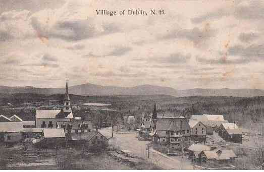 Dublin, New Hampshire, USA - Village of Dublin, N. H.