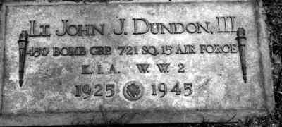 John Joseph DUNDON - Grave - Chenango Valley Cemetery 