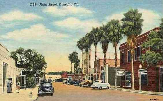 Dunedin, Florida, USA - Main Street