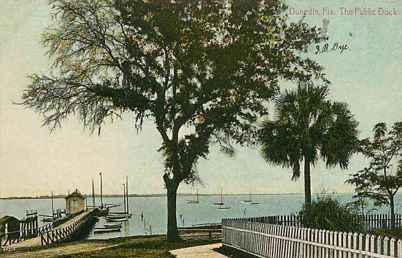 Dunedin, Florida, USA - The Public Dock
