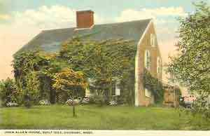 Duxbury, Massachusetts, USA (Cedar Crest) (South Duxbury) - John Alden House, Built 1653, Duxbury, Mass.