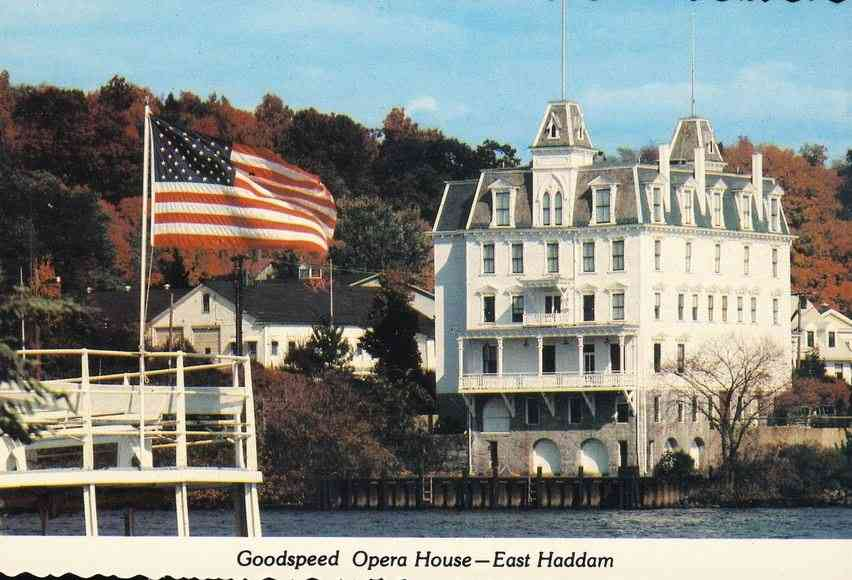 East Haddam, Connecticut, USA - Goodspeed Opera House