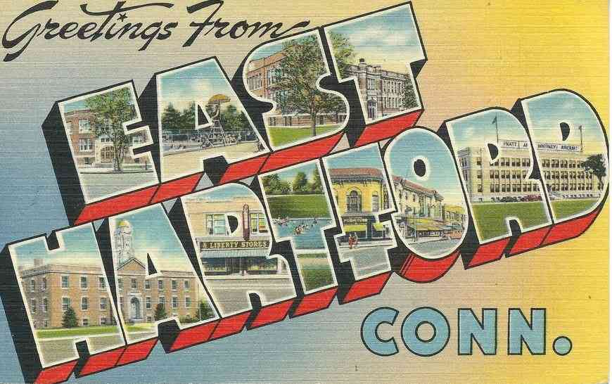 East Hartford, Connecticut, USA - Greetings from East Hartford, Conn.