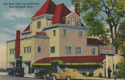 East Hartford, Connecticut, USA - Old Town Hall Inn and Diner, East Hartford, Conn.