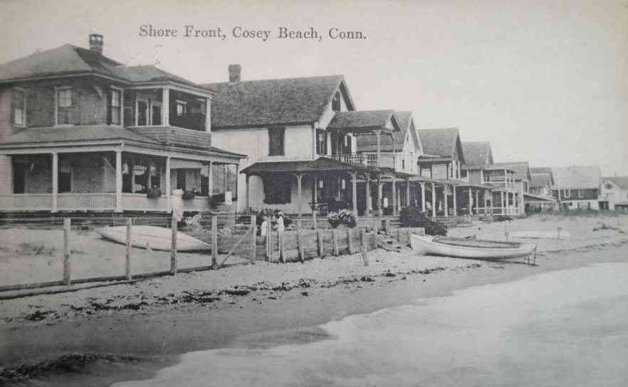 East Haven, Connecticut, USA - Shore Front, Cosey Beach, Conn.