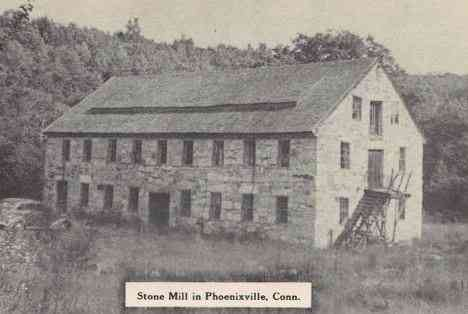 Eastford, Connecticut, USA - Stone Mill in Phoenixville, Conn.