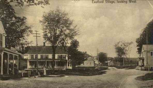 Eastford, Connecticut, USA - Eastford Village, looking West