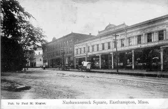 Easthampton, Massachusetts, USA - Nashawannuck Square, Easthampton, Mass.