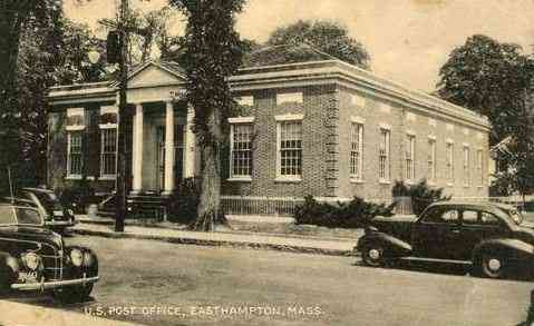 Easthampton, Massachusetts, USA - U.S. Post Office, Easthampton, Mass.