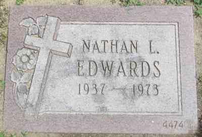 Nathan Louis EDWARDS - Gate of Heaven Cemetery