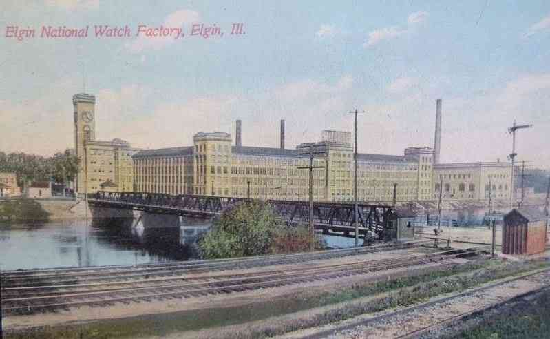 Elgin, Illinois, USA - Elgin National Watch Factory