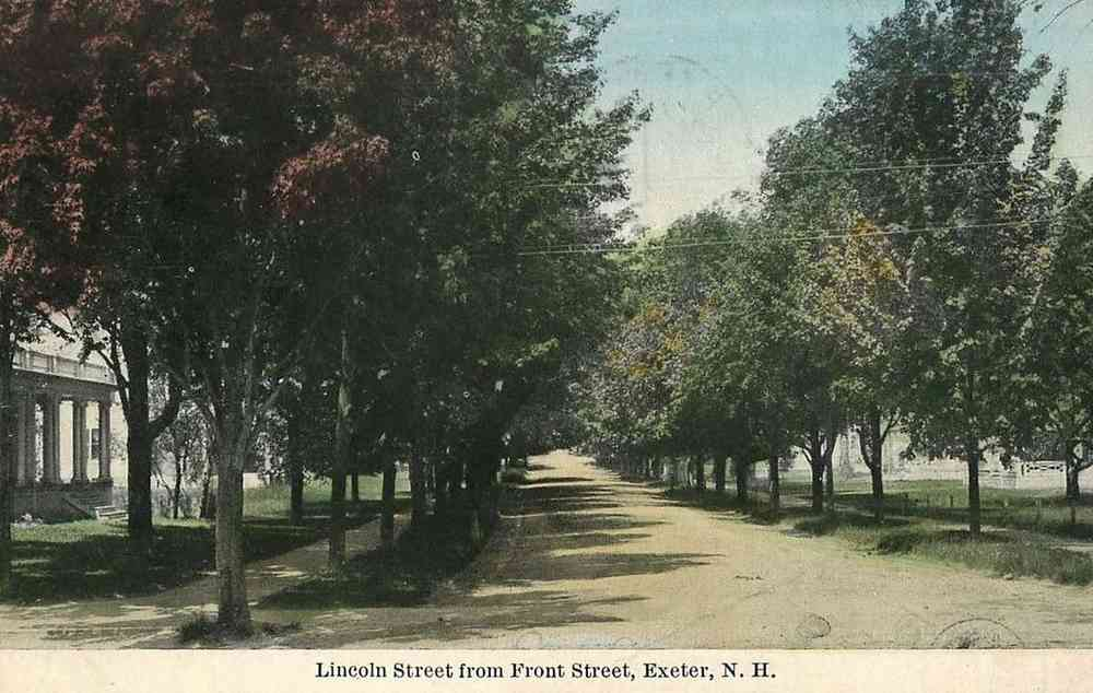 Exeter, New Hampshire, USA - Lincoln Street from Front Street, Exeter, N.H.