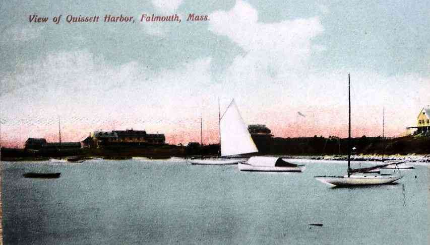 Falmouth, Massachusetts, USA (N., E., W.) (Teaticket) (Woods Hole) - View of Quissett Harbor, Falmouth, Mass.
