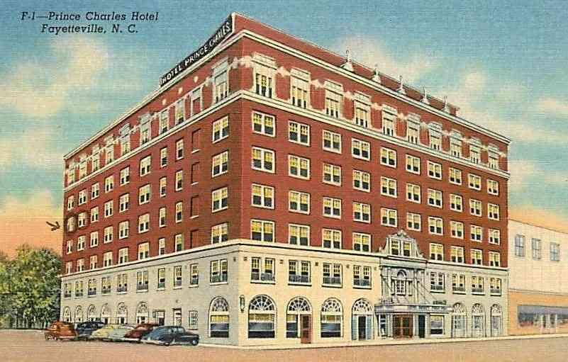 Fayetteville North Carolina Usa Prince Charles Hotel