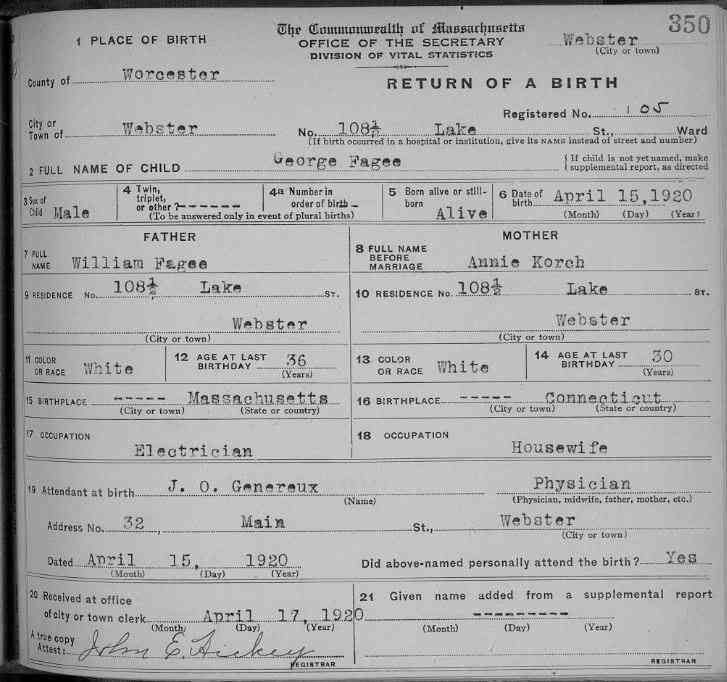 neil armstrong birth certificate - photo #10